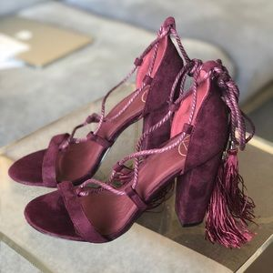 Missguided tie up sandals